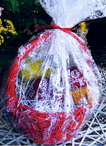 Great gift baskets made to order from the Bakery & Sweet Shop at MacQueen Apple Orchard, Cider Mill, Farm Market, and Pick Your Own Apples, Holland, Ohio, west of Toledo